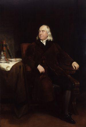 Jeremy Bentham Portrait