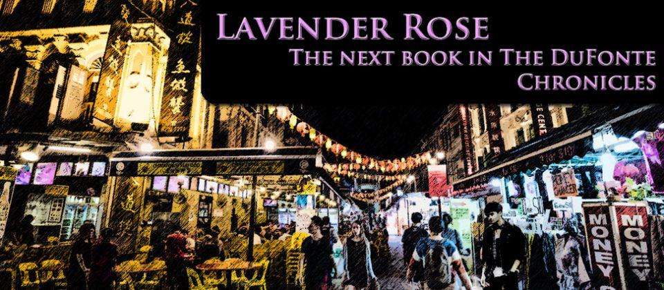 Lavender Rose Banner